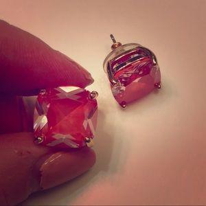 Kate Spade Small Square Enamel Stud Earrings